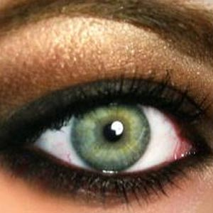 Maquiller les yeux vert
