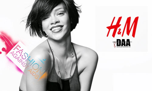 Fashion Against Aids, by H & M