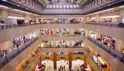 Les magasins et centre commerciaux asiatiques