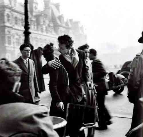 la Saint-Valentin et Jacques Doisneau