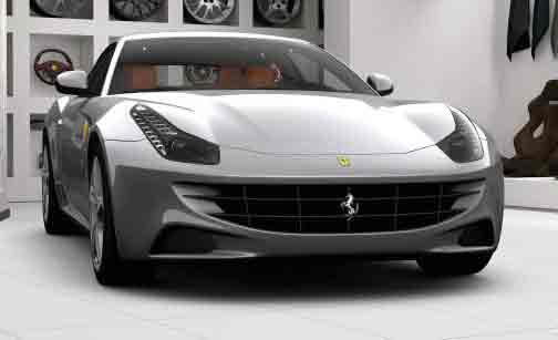 Localiser un Ferrari