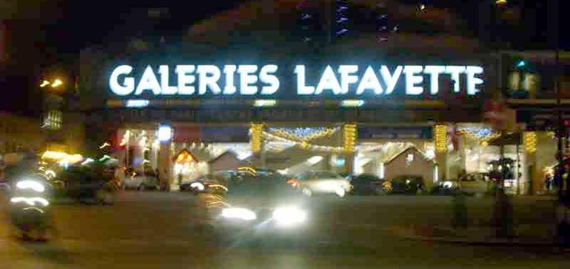 trouver un magasin Les Galeries Lafayette