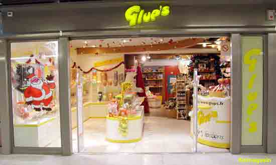 les magasins Glup's