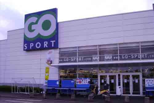 Les magasins et promos Go Sport