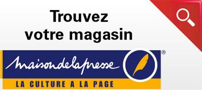 Les librairies Maison de la Presse en France