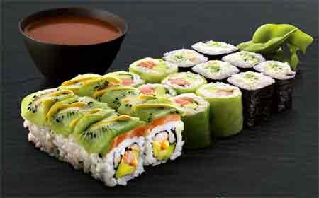 Les menus et restos Sushi Shop
