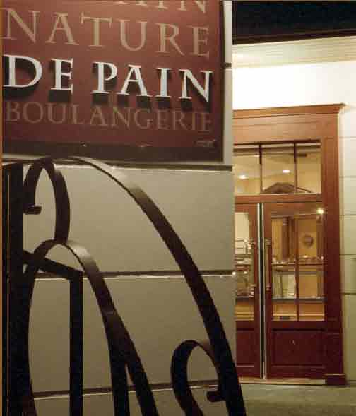 les boulangeries Nature de Pain