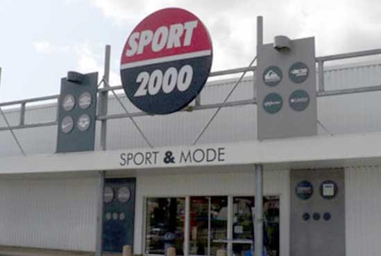 Les magasins et promos Sport 2000