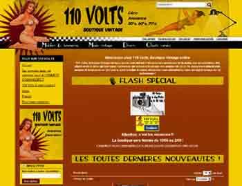 Entrer dans le site 110 Volts.net