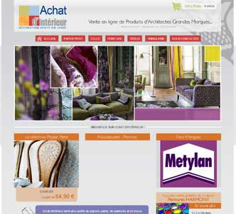 Entrer dans le site Achat d'intérieur.com