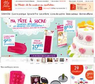 Entrer dans le site Alice Délice.com
