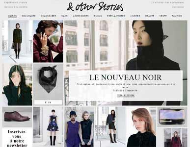 Entrer dans le site & Other Stories.com
