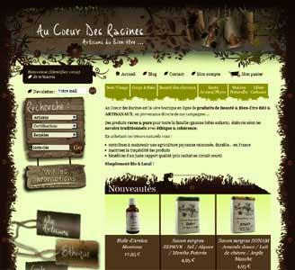le site Au Coeur des Racines.com