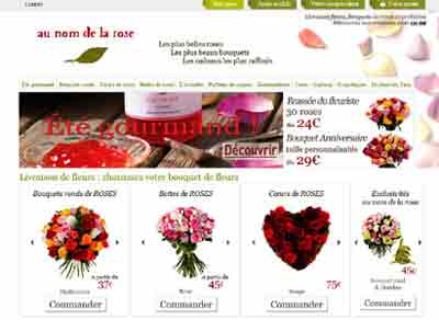Petite s lection de magasins en ligne de fleurs en bouquet for Plantes vertes en ligne