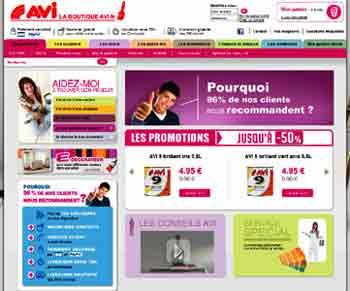 Entrer dans le site Avi.fr