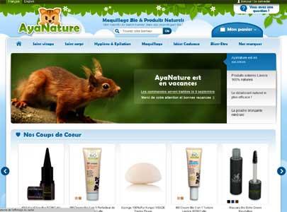le site Ayanature.com