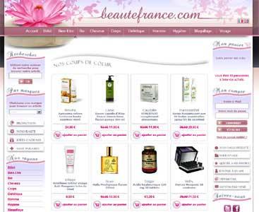 Entrer dans le site Beauté France.com