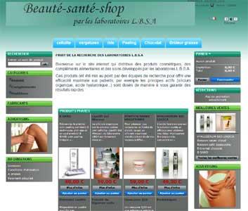 Entrer dans le site Beauté Santé Shop.com