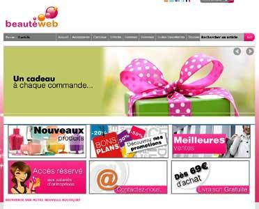 Entrer dans le site Beauté Web.com