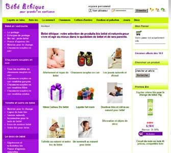 le site Bebe-Ethique.com
