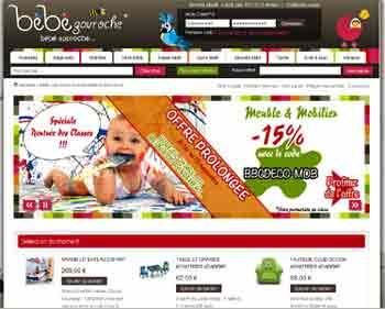 Entrer dans le site Bébé Gavroche.com