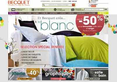 Entrer dans le site Becquet.fr