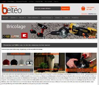 Entrer dans le site Belteo.com
