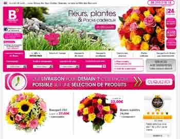 Petite s lection de magasins en ligne de fleurs en bouquet for Le bouquet nantais