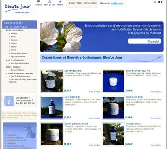 le site Bleu'le Jour