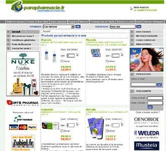 Entrer dans le site E-Parapharmacie.fr