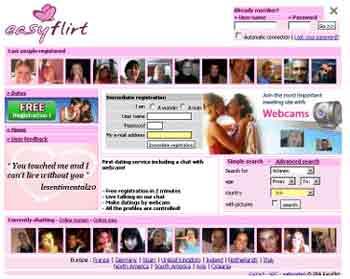 Entrer dans le site Easy flirt.com