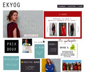 le site Soie de Ekyog.com