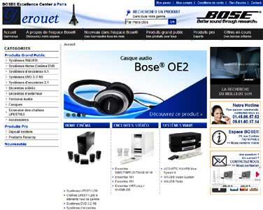 Entrer dans le site Espace Audio.com