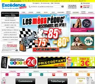 Entrer dans le site Excédence.com
