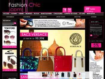 Entrer dans le site Fashion-Chic.com