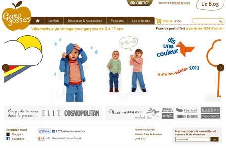 Entrer dans le site Garogosses.com