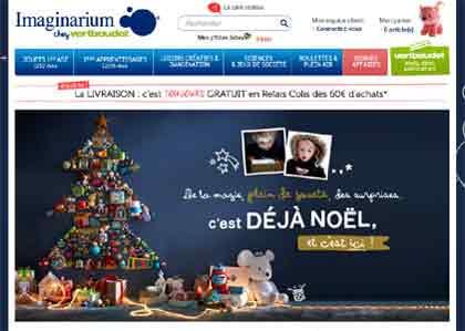 Entrer dans le site Imaginarium.fr