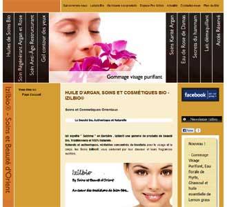 le site Izilbio.com