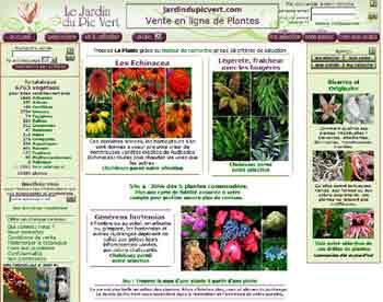 Entrer dans le site Le Jardin du Pic Vert.com