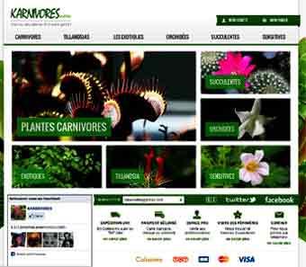Entrer dans le site Karnivores.com