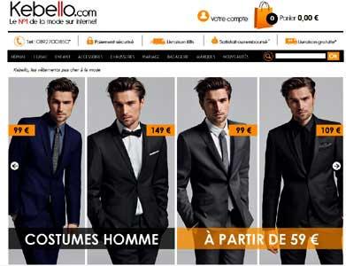 Entrer dans le site Kebello.com