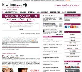 Entrer dans le site Kiwiboo.com