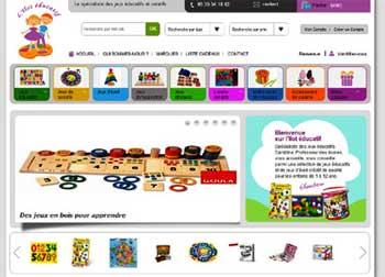 Entrer dans le site L'Îlot Educatif.com