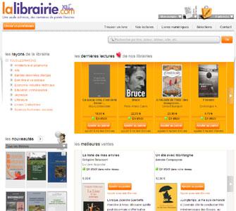 Entrer dans le site La librairie