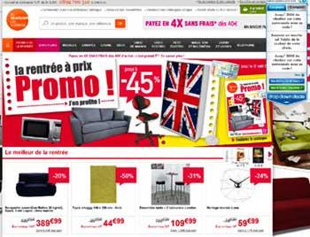 les magasins en ligne d 39 lectrom nager d 39 informatique et. Black Bedroom Furniture Sets. Home Design Ideas
