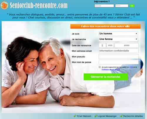Sites rencontres seniors entierement gratuits