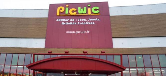 Trouver un magasin de jouets Picwic