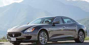 les concessionnaires Maserati