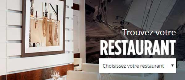 Trouver un restaurant la Criée