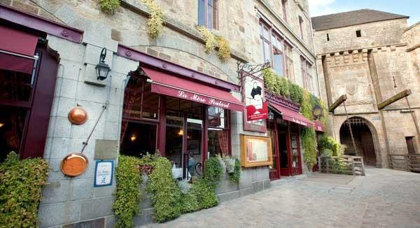 Trouver un restaurant la Mère Poulard